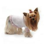 View Image 2 of Pink and Proper Dog Sweater by Oscar Newman - Pink
