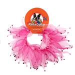 View Image 2 of Pink Rhinestone Dog Neck Scrunchy
