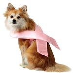 View Image 1 of Pink Ribbon Dog Costume by Rasta Imposta
