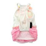 View Image 3 of Pink Ruffles Dog Dress by Parisian Pet