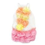 View Image 2 of Pink Ruffles Dog Dress by Parisian Pet