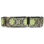 View Image 1 of Pinwheel Wide Martingale Dog Collar by Diva Dog - Dutch Spring