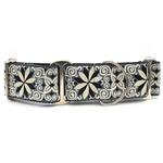 View Image 1 of Pinwheel Wide Martingale Dog Collar by Diva Dog - Norway Winter