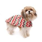 View Image 4 of Pitter Patter Packable Dog Rain Poncho - Sweet Sorbet