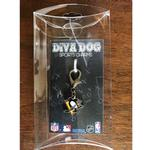 View Image 2 of Pittsburgh Penguins Logo Dog Collar Charm