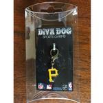 View Image 2 of Pittsburgh Pirates Logo Dog Collar Charm