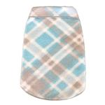 View Image 1 of Plaid Dog Pullover - Light Blue and Gray
