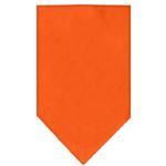 View Image 1 of Plain Dog Bandana - Orange