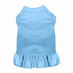 View Image 1 of Plain Dog Dress - Baby Blue