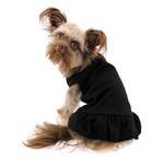 View Image 2 of Plain Dog Dress - Black