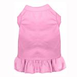View Image 1 of Plain Dog Dress - Light Pink
