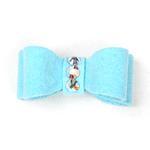 View Image 1 of Susan Lanci Dog Hair Bow 2-Piece Set - Tiffi Blue