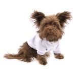 View Image 1 of Plain Dog Hoodie - Cream