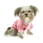 View Image 1 of Plain Dog Hoodie - Pink