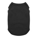 View Image 1 of Plain Dog Shirt - Black