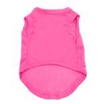 View Image 2 of Plain Dog Shirt - Bright Pink