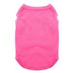 View Image 1 of Plain Dog Shirt - Bright Pink