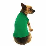 View Image 1 of Plain Dog Shirt - Emerald Green