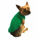View Image 2 of Plain Dog Shirt - Emerald Green