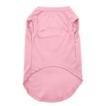 View Image 2 of Plain Dog Shirt - Light Pink