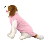 View Image 3 of Plain Dog Shirt - Light Pink
