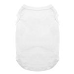 View Image 1 of Plain Dog Shirt - White