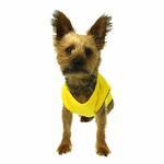 View Image 5 of Plain Dog Shirt - Yellow
