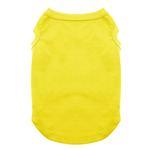 View Image 1 of Plain Pet Shirt - Yellow