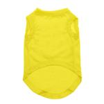View Image 2 of Plain Pet Shirt - Yellow