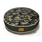 View Image 1 of P.L.A.Y. Camoflauge Round Dog Bed - Green