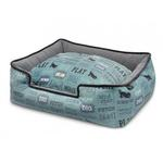 View Image 1 of P.L.A.Y. Dog's Life Lounge Dog Bed - Powder Blue