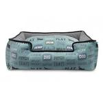 View Image 2 of P.L.A.Y. Dog's Life Lounge Dog Bed - Powder Blue