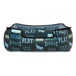 View Image 2 of P.L.A.Y. Dog's Life Lounge Dog Bed - Sofa Blue