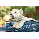 View Image 3 of P.L.A.Y. Dog's Life Lounge Dog Bed - Sofa Blue