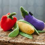 View Image 5 of P.L.A.Y. Farm Fresh Dog Toy Collection - 3 Piece Set