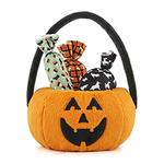 View Image 1 of P.L.A.Y. Howl-O-Ween Treat Basket Dog Toys