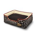 View Image 1 of P.L.A.Y. Kalahari Lounge Dog Bed - Brown Giraffe