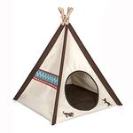 View Image 1 of P.L.A.Y. Pet Teepee - Classic Beige