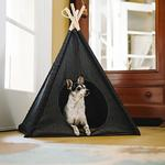 View Image 2 of P.L.A.Y. Pet Teepee - Urban Denim