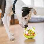 View Image 2 of P.L.A.Y. Wobble Ball Enrichment Dog Toy - Green