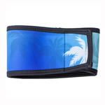 View Image 3 of Playa Pup Dog Belly Band - Palm Tree Blue