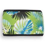 View Image 3 of Playa Pup Dog Belly Band - Tropical Treasure Green