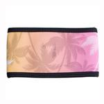 View Image 3 of Playa Pup Dog Belly Band - Palm Tree Pink