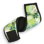View Image 1 of Playa Pup Dog Belly Band - Tropical Treasure Green