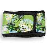 View Image 2 of Playa Pup Dog Belly Band - Tropical Treasure Green