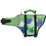 View Image 1 of Playa Pup Dog Lifejacket - Paradise Green Tuga