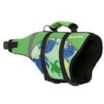 View Image 2 of Playa Pup Dog Lifejacket - Paradise Green Tuga