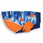 View Image 1 of Playa Pup Sun Protection Dog Shirt - Tropical Blazing Island