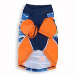 View Image 2 of Playa Pup Sun Protection Dog Shirt - Tropical Blazing Island