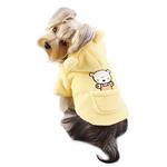 View Image 2 of Plush Country Bear Hooded Dog Jacket by Klippo